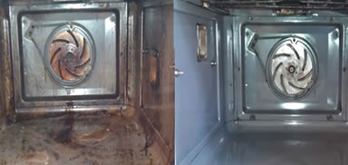 oven cleaning cost
